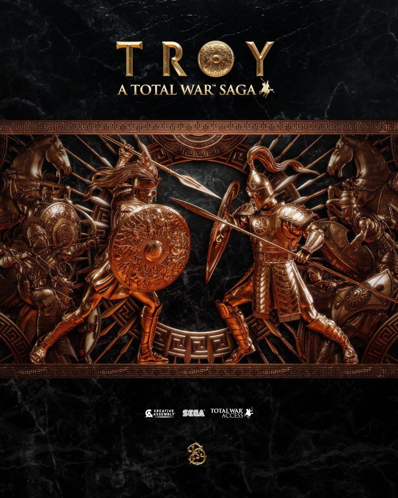 Total War Troy complete poster by Billelis.